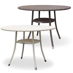 【10/31まで特価セール】リゾート風 全天候型ファニチャー RAUCORD(ラウコード) AMALFI DINING TABLE ダイニングテーブル 1000mm