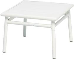 【リゾート風】ガーデンファニチャー NC サイドテーブル50×50mm (アルミ製)