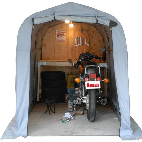 テント式簡易バイクガレージ ガレイジーワイド