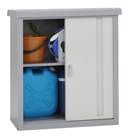 季節家電等の入れ替えに便利な小型収納庫