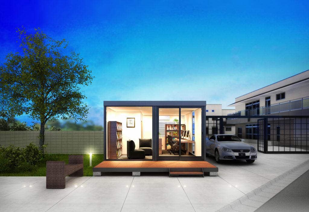 コンテナを家として利用するコンテナハウス