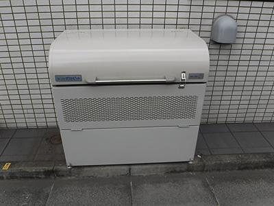 ヨドコウ ダストピット ゴミ収集庫 DPUB-400(アジャスター付)