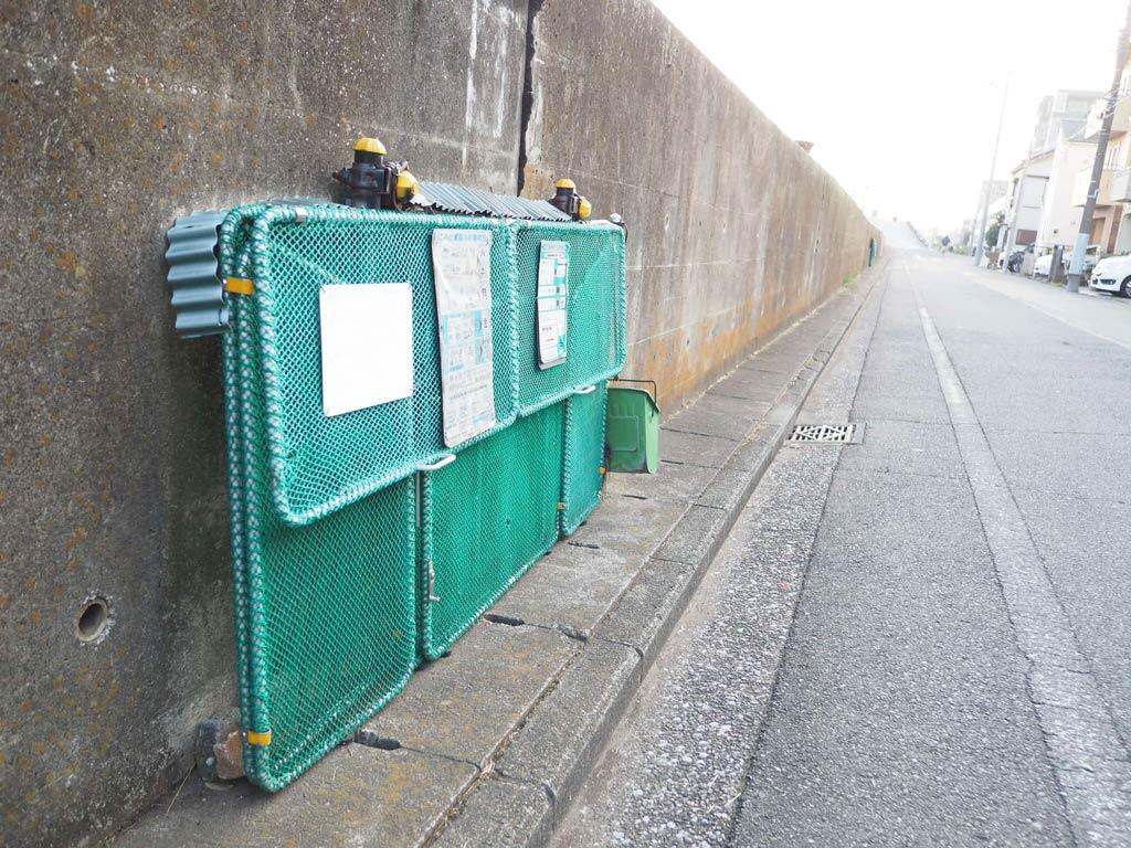 折り畳み式ゴミ集積場用ゴミステーション