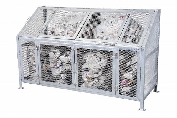 グリーンライフ ゴミステーション メッシュゴミ収集庫 KDB
