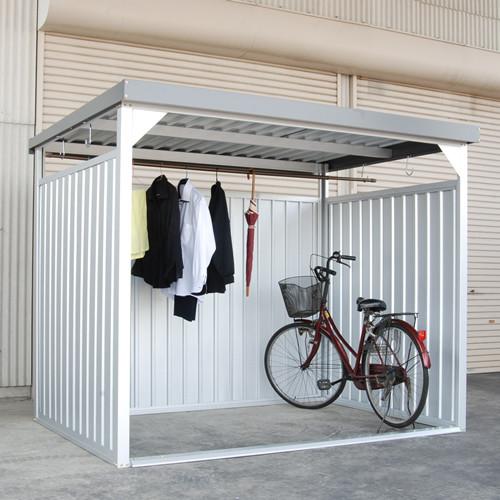 屋外の喫煙所スペースとして最適な多目的物置