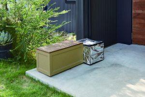 トーシンコーポレーションの収納ベンチ、ブルックスシリーズ