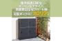 屋外設置可能なオシャレなデザイン。低層集合住宅アパート用宅配ボックス「フロリア」