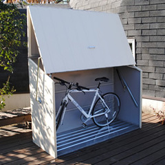 ガーデナップ 英国製自転車倉庫 TM3