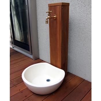 ガーデンパン・水受け ファミエンテ パン(ビーンズ)の設置写真<東京都A様>