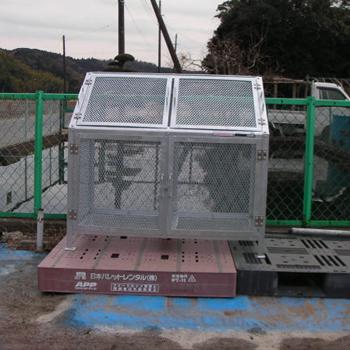 グリーンライフ メッシュゴミ収集庫 120 KDB-1200 の設置写真<千葉県M様>