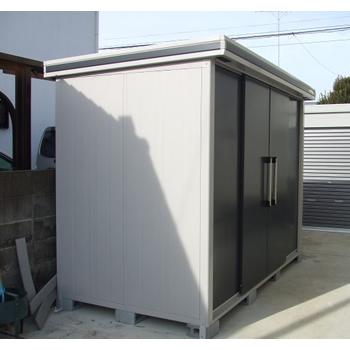 【自作】ヨド物置 エルモ LMC-2915GLの施工事例<茨城県A様>