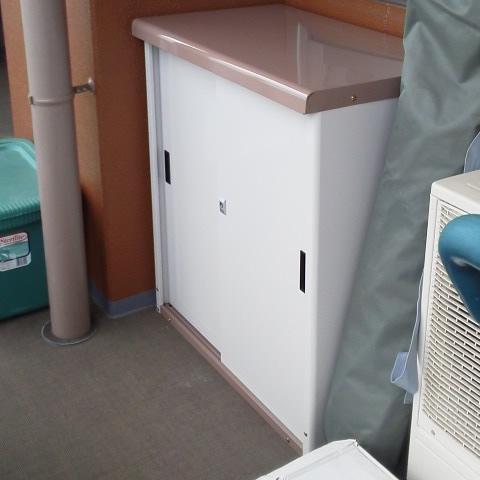 タカヤマ物置 エコノミー TMS-805Nをお客様組立<大阪市N様>