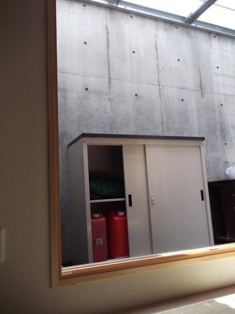 マキテック収納庫 横型物置 MKN-31の設置写真<東京都H様>