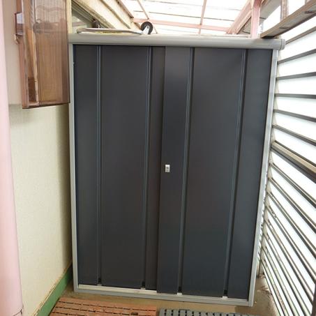 タカヤマ物置 インパクト TMS-2030の設置写真<千葉県S様>