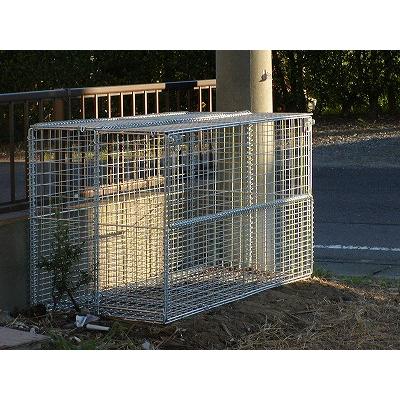 折畳み可能なゴミ収集庫 リサイクルボックス GP-800Nの設置写真<茨城県K様>