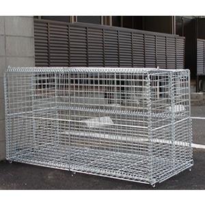 折畳み可能なゴミ収集庫 リサイクルボックス GP-800N<茨城県K様>