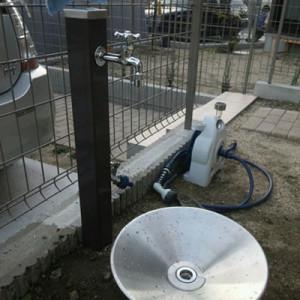 水栓柱一式セット ウォータースタンド Spreの施工事例<東海市S様>