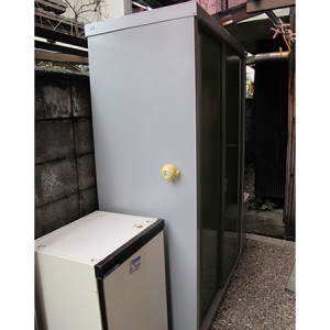 イナバ物置 シンプリー MJN-136EPの施工写真<愛知県H様>