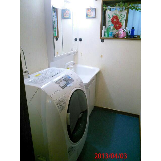 TOTO KEシリーズ 洗面化粧台の施工写真<大阪府I様>