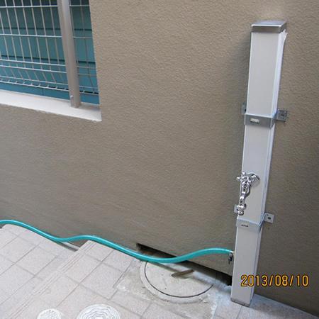 水栓柱 スプレスタンド 蛇口1個セットASP-S101