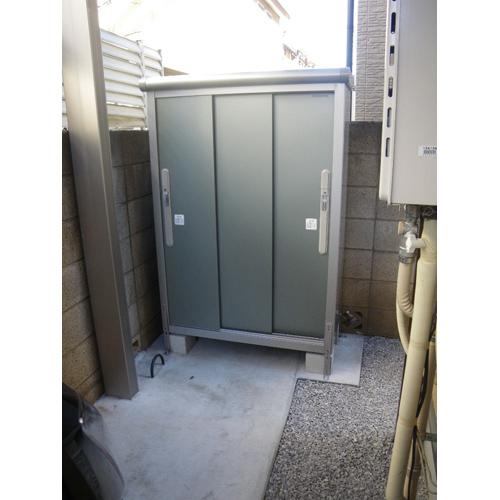 ヨド物置 エスモ ESD-1005EGLの施工例