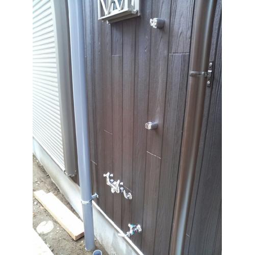 シャワーヘッド付水栓金具 混合水栓用 カランパイプ無し PF-S9-M