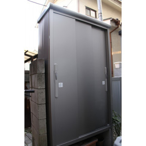 【お客様組立】ヨド物置 エスモ ESD-1205AGLの施工事例