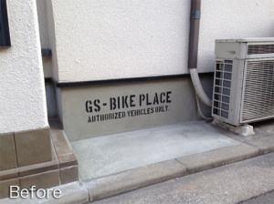 高さが調節できるサイクルハウス TAN-554の施工事例(大阪府N様)