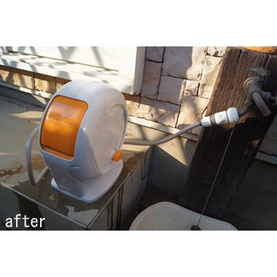 グリーンライフ オールカバーホースリール CORON コロン ホース長20m オレンジ PRR-20HCOR