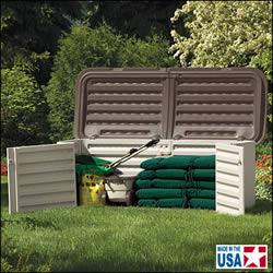ĸ�夫な樹脂製の製品 lj�置、雪かき、収納、ガーデンファニチャーetc)で、米国ではかなり有名なメーカー Suncast