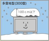 多雪地型物置図