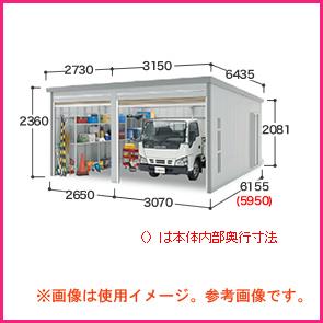 車庫というよりは倉庫として拡張して使うガレーディア