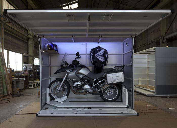 バイクガレージ motoCUBIC モトキュービック