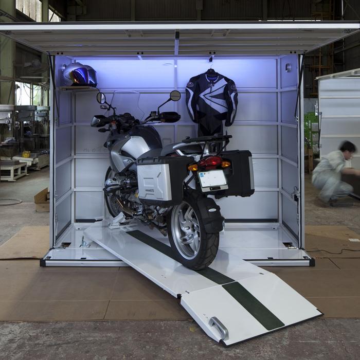 バイク保管庫 モトキュービック moto CUBIC ロング