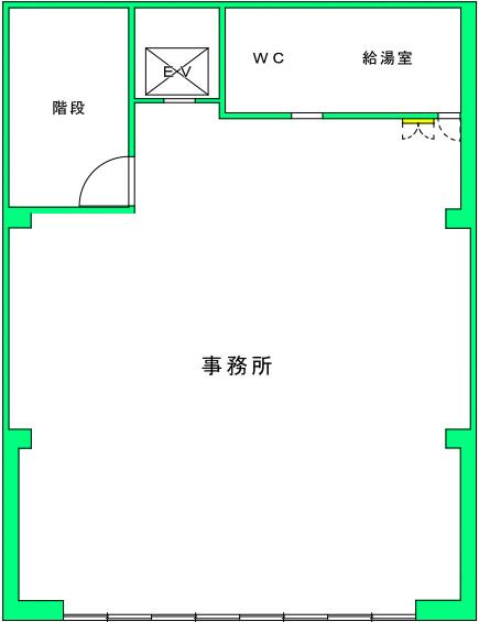 イナバトランクルーム導入前と導入後を図面で検証