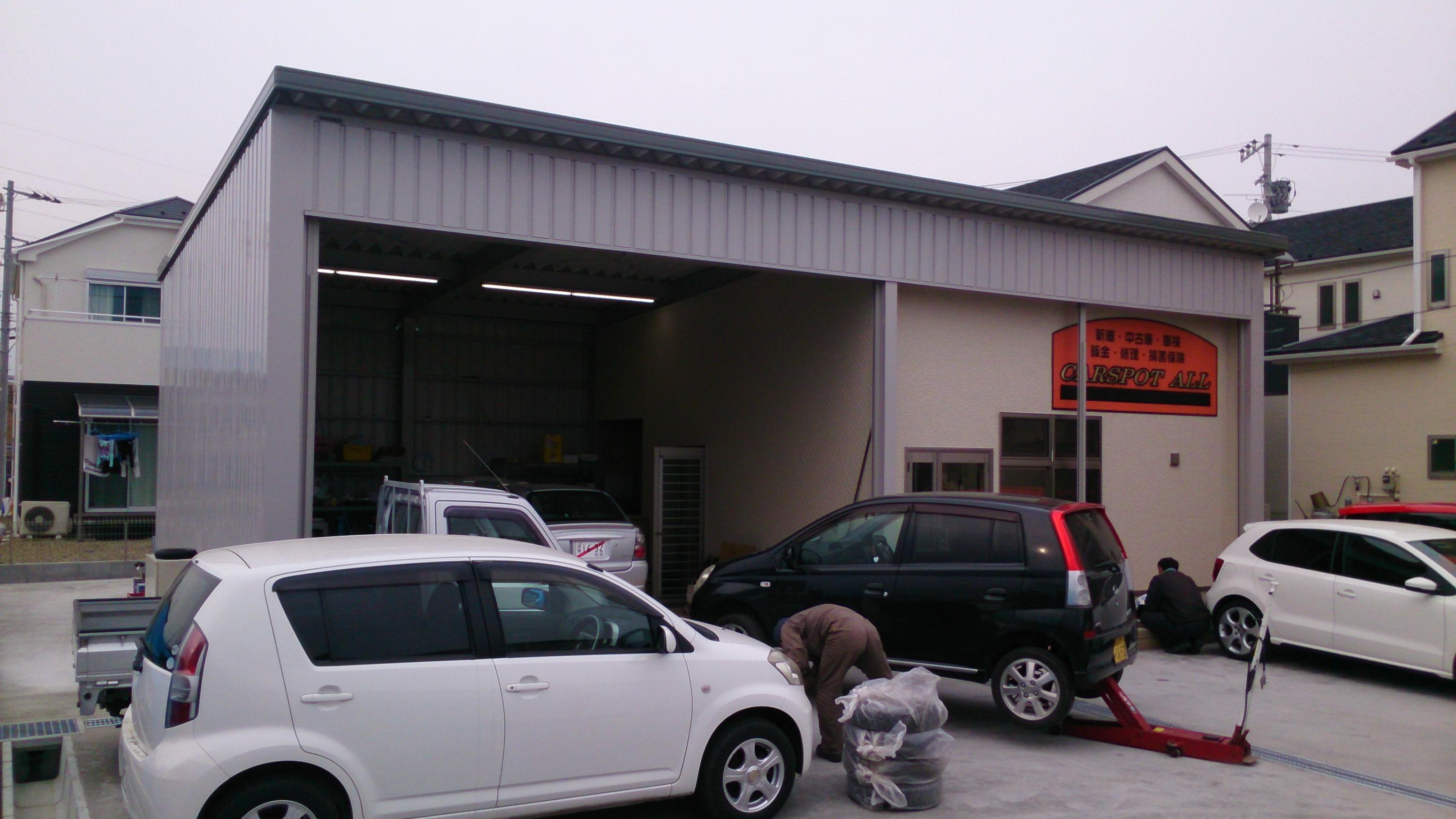 ガレージに作業スペースを加えることで事務所として利用したい!(事例集)